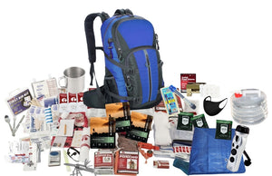 1 Person - GO BAG SURVIVAL KIT: PREMIUM