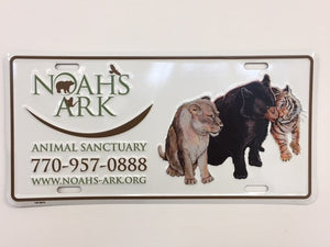 Noah's Ark Limited Edition License Plate