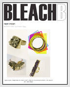 Bleack Black Features Geometric Graffiti Street Art Inspired Bangles Designed by Dana Walden Chin and Radika Sallick Chin of Dana Walden Jewelry