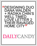 Dana Chin Radika Sallick Chin Daily Candy New York State of Mind Sandy Relief Necklace DailyCandy
