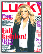 Lucky Magazine Features Jewelry Designed by Dana Walden Chin and Radika Sallick Chin of Dana Walden Jewelry