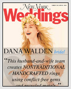 NY Magazine Wedding Guide Unique Custom Engagement Rings Dana Walden Bridal