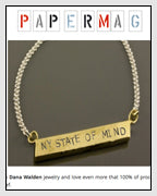 Dana Chin Radika Sallick Chin New York State of Mind Sandy Relief Necklace Paper Magazine