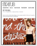Status Magazine Features Graffiti Jewelry Designed by Dana Walden Chin and Radika Sallick Chin of Dana Walden Jewelry