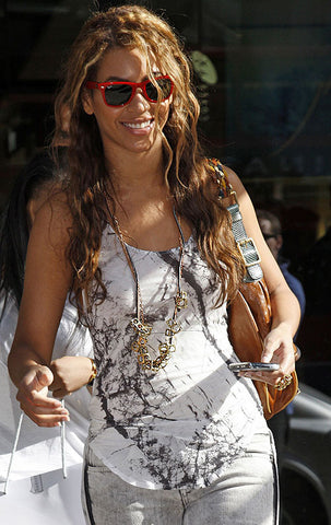 Beyonce Knowles Wears the Atomic Brass ring from Dana Walden Jewelry