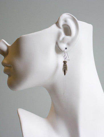 Colt Firing Pin Earrings Dana Walden Jewelry on ear