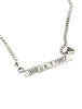 Loving Day Civil Rights Inspired no. 1 Silver Necklace Dana Walden Jewelry