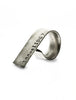 Montgomery Two Finger Civil Rights Inspired Silver Ring from Dana Walden Jewelry