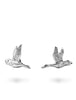 Prospect Bird Earrings in Silver From Dana Walden Jewelry