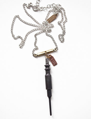 Smith Firing Pin Unisex Necklace - Subversive Gun Jewelry, Smith & Wesson