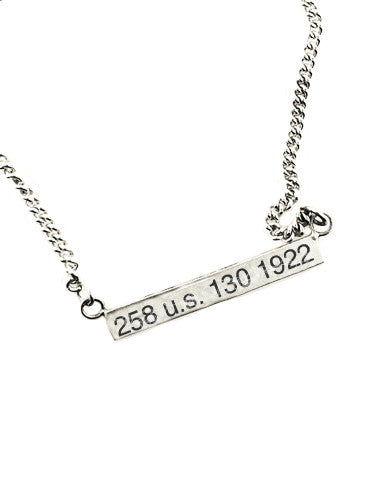 Civil Rights Jewelry Women's Suffrage no. 1 Necklace Dana Walden