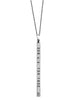 Women's Suffrage no 2 Civil Rights Inspired Silver Necklace from  Dana Walden Jewelry