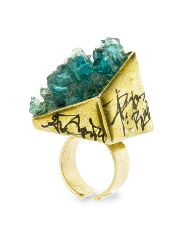 Zola Apatite Gemstone Ring Dana Walden Jewelry