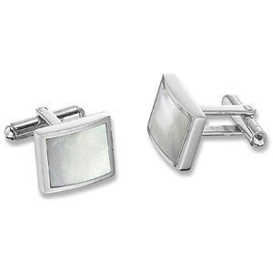 Jace Men's Mother of Pearl Cuff Links