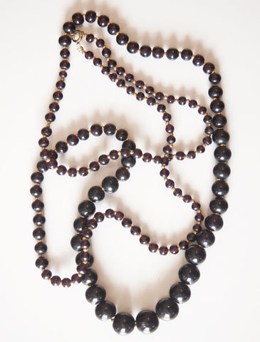 Leighton Vintage Bead Necklace