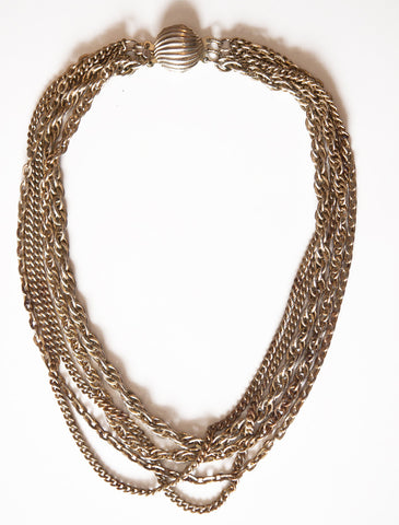 Paulette Vintage Chain Necklace