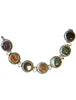 Zadie Vintage Choker Necklace Silver Gemstones found in New York City