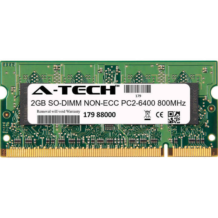 2GB DDR2-800 (PC2-6400) SODIMM Laptop Memory RAM
