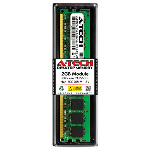 2GB DDR2-667 (PC2-5300) DIMM Desktop Memory RAM