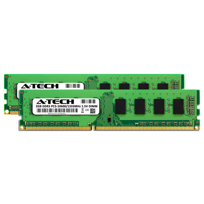 4GB Kit (2 x 2GB) DDR3-1333 (PC3-10600) DIMM Memory RAM for Dell OptiPlex 580