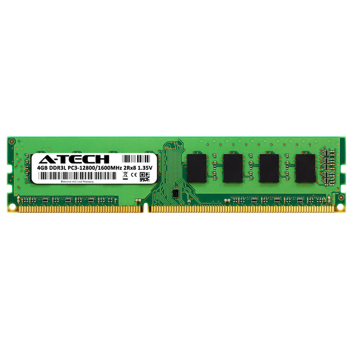 4GB DDR3L-1600 (PC3-12800) DIMM DR x8 Memory RAM for Dell OptiPlex 390 Desktop