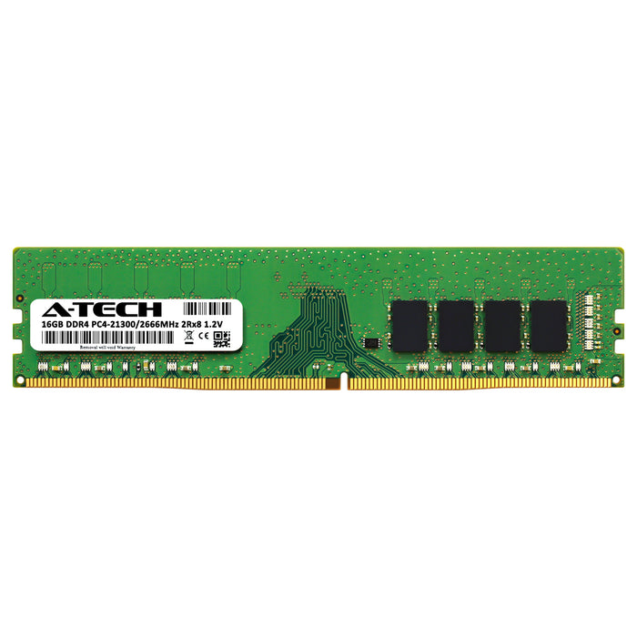 16GB DDR4-2666 (PC4-21300) DIMM DR x8 Memory RAM for Dell OptiPlex 3070 Small Form Factor