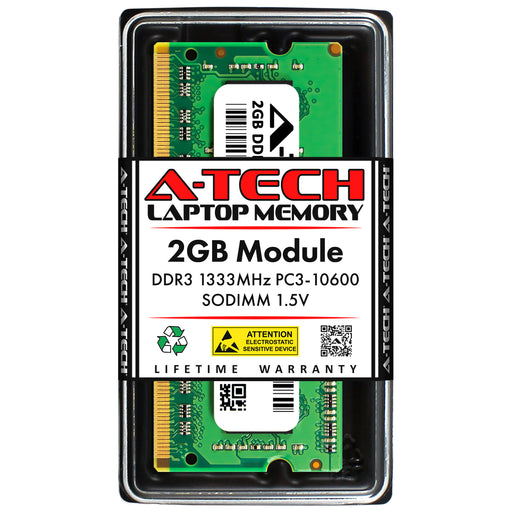 2GB DDR3-1333 (PC3-10600) SODIMM Memory RAM for ASUS Atom N570