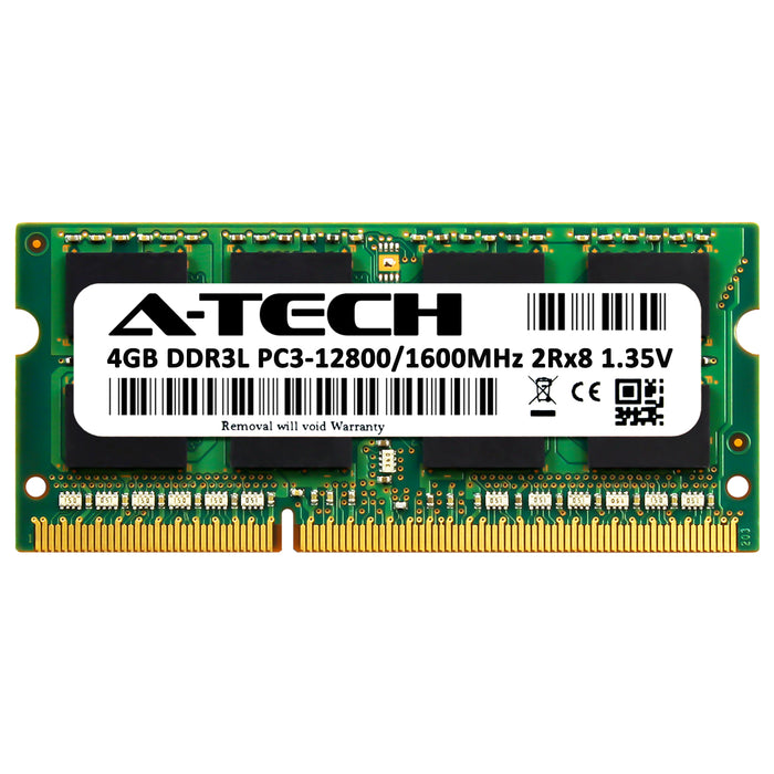 4GB DDR3L-1600 (PC3-12800) SODIMM DR x8 Memory RAM for ASUS K52F