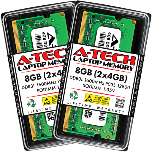 8GB Kit (2 x 4GB) DDR3L-1600 (PC3-12800) SODIMM Memory RAM for Acer Aspire V3-571-6800