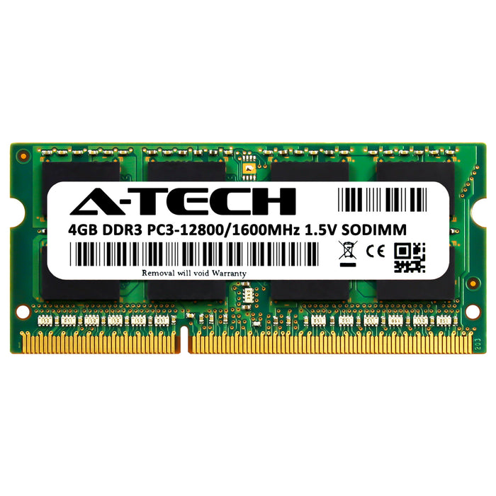 4GB DDR3-1600 (PC3-12800) SODIMM Memory RAM for Lenovo ThinkPad W530