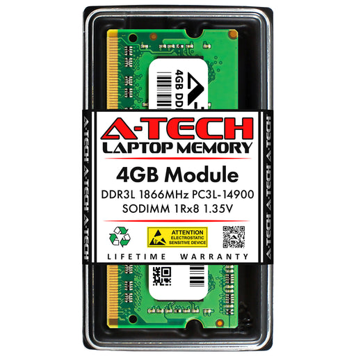 4GB DDR3L-1866 (PC3-14900) SODIMM SR x8 Memory RAM for Acer Aspire V5-171