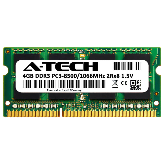 4GB DDR3-1066 (PC3-8500) SODIMM DR x8 Memory RAM for Lenovo ThinkPad 2801