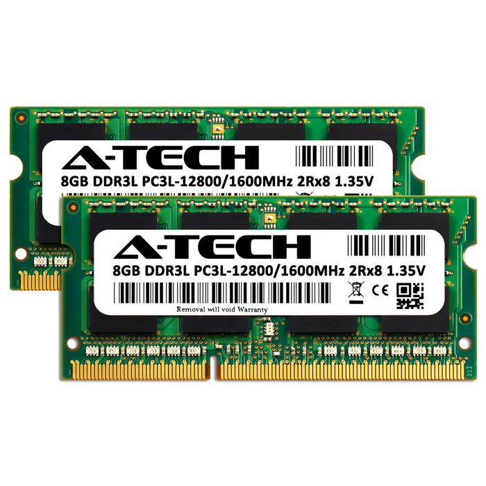 16GB Kit (2 x 8GB) DDR3L-1600 (PC3-12800) SODIMM DR x8 Memory RAM for Dell OptiPlex 3040M (Micro)