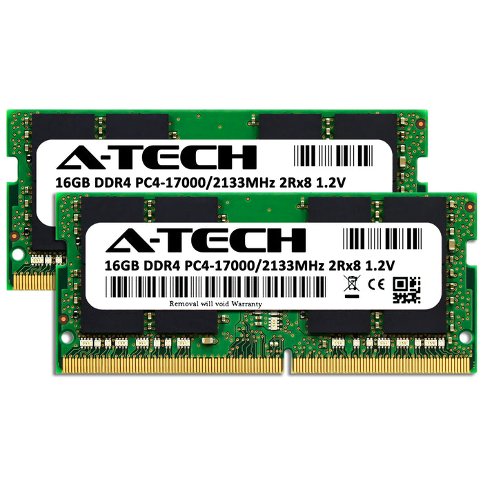 32GB Kit (2 x 16GB) DDR4-2133 (PC4-17000) SODIMM DR x8 Memory RAM for Lenovo ThinkPad P51