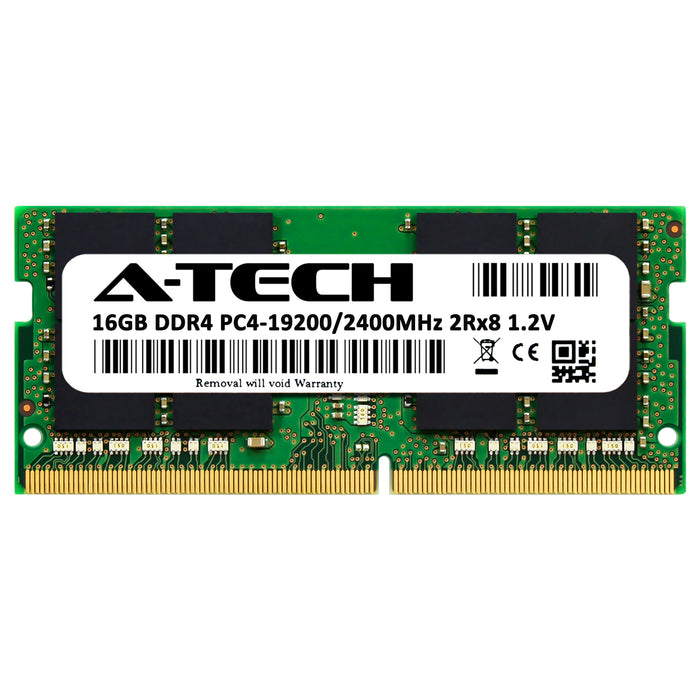 16GB DDR4-2400 (PC4-19200) SODIMM DR x8 Memory RAM for Toshiba Tecra A50-D-00S