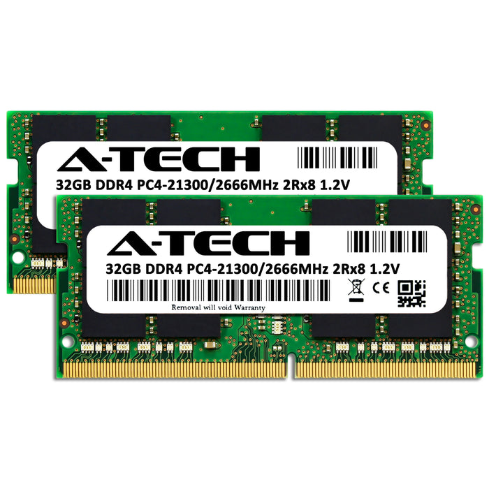 64GB Kit (2 x 32GB) DDR4-2666 (PC4-21300) SODIMM DR x8 Memory RAM for Lenovo ThinkPad P1 Non