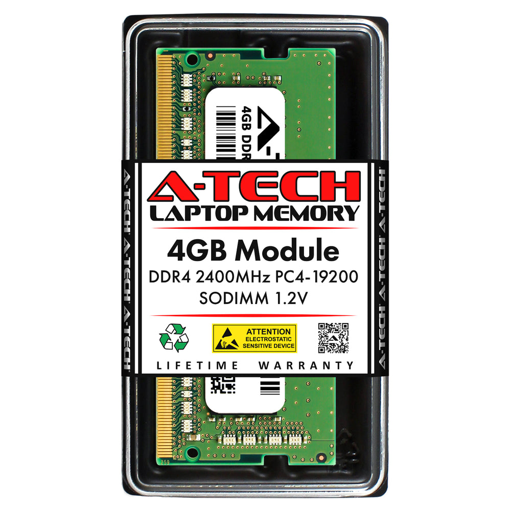 4GB DDR4-2400 (PC4-19200) SODIMM Memory RAM for Toshiba Portege A30-D-049
