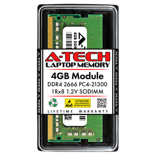 4GB DDR4-2666 (PC4-21300) SODIMM SR x8 Memory RAM for Acer Aspire A315-21