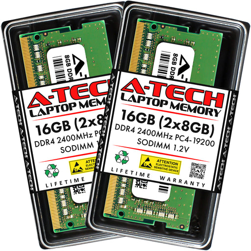 16GB Kit (2 x 8GB) DDR4-2400 (PC4-19200) SODIMM Memory RAM for Acer Aspire AN515-51-5594