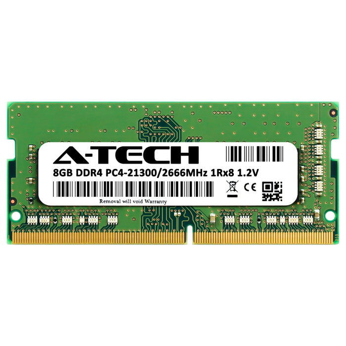 8GB DDR4-2666 (PC4-21300) SODIMM SR x8 Memory RAM for Dell Latitude 13 (7380)