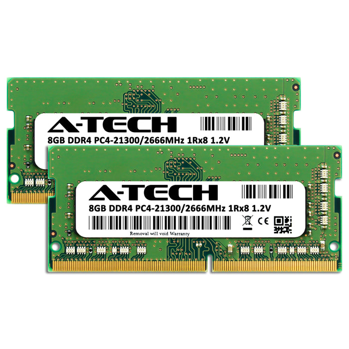 16GB Kit (2 x 8GB) DDR4-2666 (PC4-21300) SODIMM SR x8 Memory RAM for Dell Latitude 15 (5580)