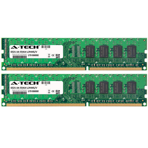 4GB Kit (2 x 2GB) DDR3-1333 (PC3-10600) DIMM SR x16 Desktop Memory RAM