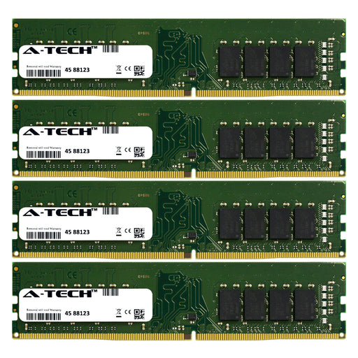 64GB Kit (4 x 16GB) DDR4-2400 (PC4-19200) DIMM DR x8 Desktop Memory RAM