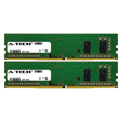 8GB Kit (2 x 4GB) DDR4-2400 (PC4-19200) DIMM SR x16 Desktop Memory RAM