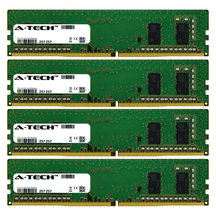 16GB Kit (4 x 4GB) DDR4-2133 (PC4-17000) DIMM SR x16 Desktop Memory RAM