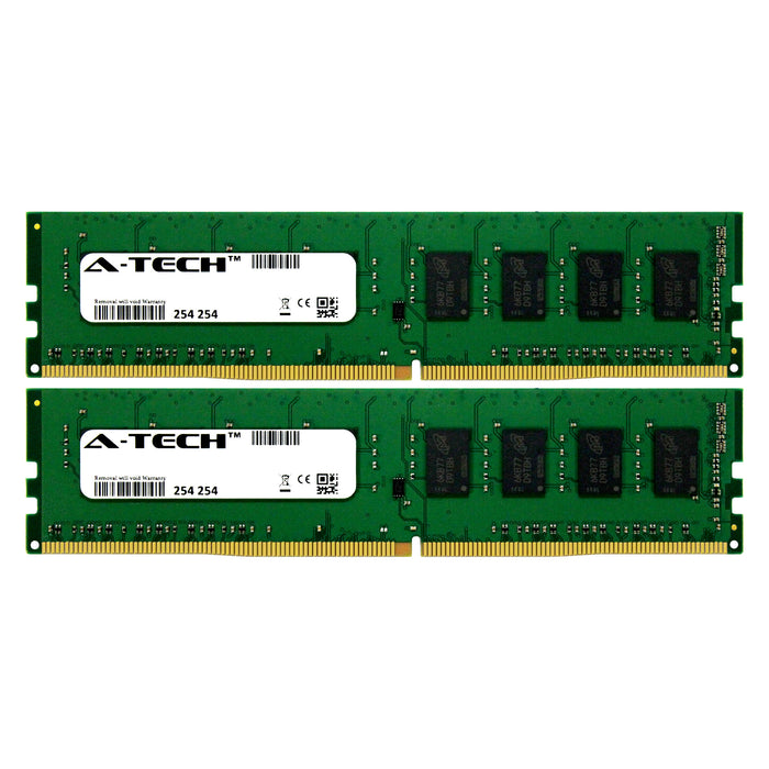 16GB Kit (2 x 8GB) DDR4-2400 (PC4-19200) DIMM SR x8 Desktop Memory RAM