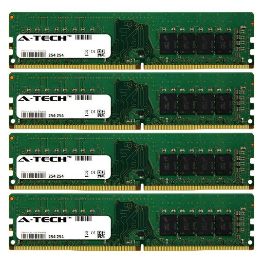 32GB Kit (4 x 8GB) DDR4-2133 (PC4-17000) DIMM DR x8 Desktop Memory RAM