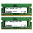 16GB Kit (2 x 8GB) DDR4-2666 (PC4-21300) SODIMM SR x8 Laptop Memory RAM