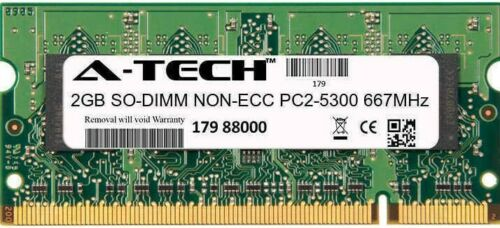 2GB DDR2-667 (PC2-5300) SODIMM Laptop Memory RAM