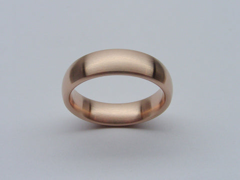 Classic Domed Ring in Bronze